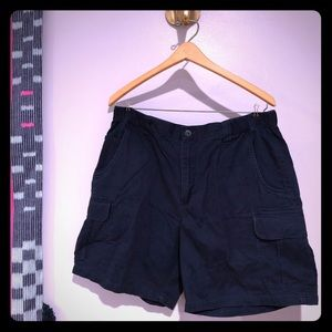Columbia Elkhorn II Mens shorts navy blue size 36